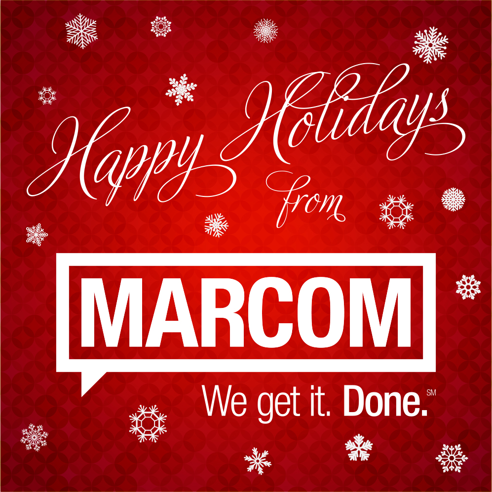 The Marcom Group Holiday Video Card Is Here The Marcom Group