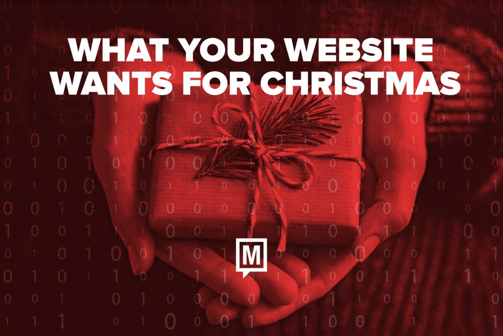What Your Website Wants for Christmas